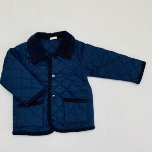 Jacket quilt patroon donkerblauw United Colours of Benetton 9-12m / 74