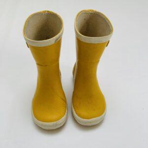Regenlaarzen geel Bergstein maat 21