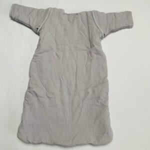 Slaapzak 4 seizoenen met afritsbare mouwen grijs Jollein 70cm