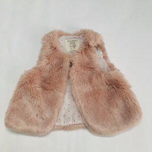 Bodywarmer teddy pink Zara 12-18m