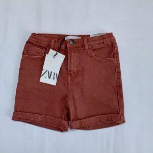 Short bordeaux Zara 7jr / 122
