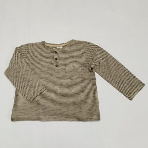 Longsleeve stripes H&M 9-12m / 80