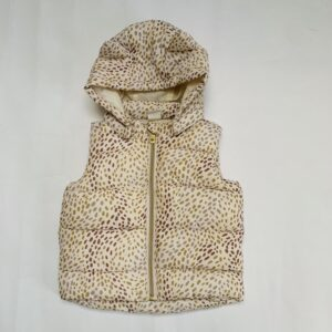 Bodywarmer leopard H&M 6-9m / 74