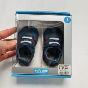 Babyschoentjes Navy sport Bobux 3-9m