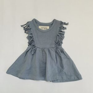Kleedje boho sleeveless blue Little Indians 0-3m