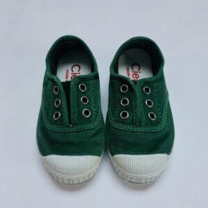 Slipons groen Cienta maat 22
