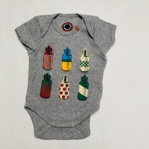 Romper shortsleeve bottles Cyclo club Marcel 0-3m