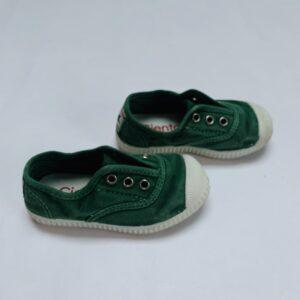 Slipons groen Cienta maat 23