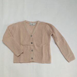 Gilet tricot pink Filou & Friends 4jr