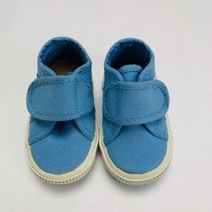 Schoentjes velcro lichtblauw Superga 18