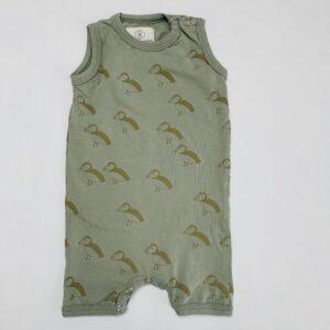 Onesie sleeveless kort papegaaiduiker Gro Company 56