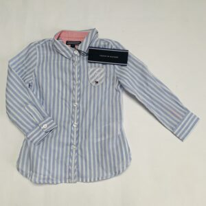 Hemd blue stripes Tommy Hilfiger / 86