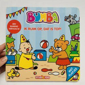Flapjesboekje Bumba Ik ruim op, dat is top!