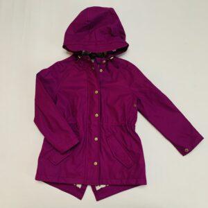 Regenjas waxed raincoat purple Sissy-Boy 98/104