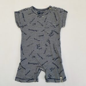Onesie shortsleeve stripes Tumble 'n Dry 56