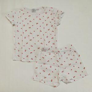 Korte pyjama kersjes Zara 4-5jr / 110