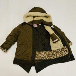 Parka leopard kaki Scotch R'belle 6jr