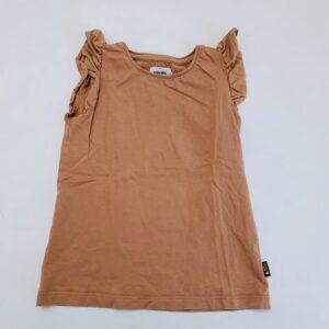 T-shirt frill mouwtjes oudroze Filou & Friends 7jr