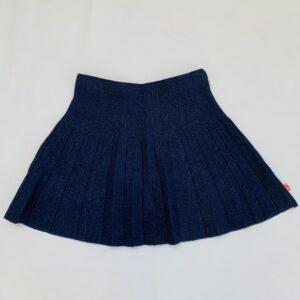 Plooirokje donkerblauw glitter Billieblush 10jr / 134/140