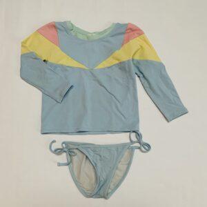 Zwemset pastel Pacific Rainbow 4jr