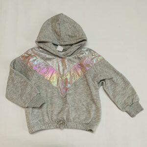 Hoodie metallic Zara 6jr / 116