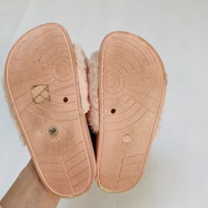 Fluffy slippers pink JBC maat 30