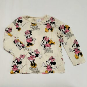 Longsleeve Minnie Mouse Zara 4-5jr / 110