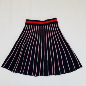 Midi rok stripes met glitter detail Scotch R'belle 8jr / 128