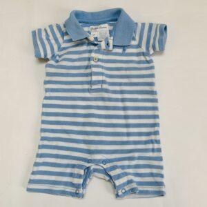 Onesie shortsleeve stripes Ralph Lauren 3m
