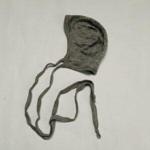 Bonnet grijs wol/zijde Engel 74/80