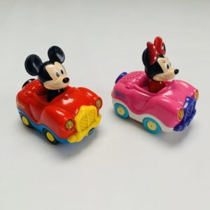 2x autootje Mickey & Minnie Vtech