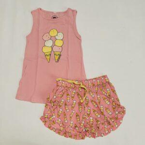 Pyjama kort icecream Eva Mouton 92/98