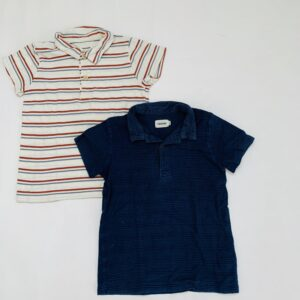 2x poloshirt stripes Filou & Friends 5jr