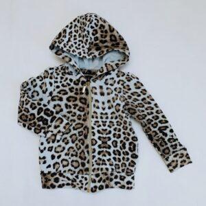Hoodie leopard Roberto Cavalli 3jr / 98