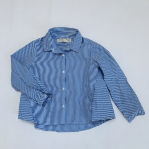 Blouse blue stripes Zara 4jr / 104