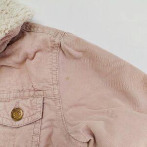 Jasje ribfluweel met teddy binnenkant H&M 1,5-2 jr