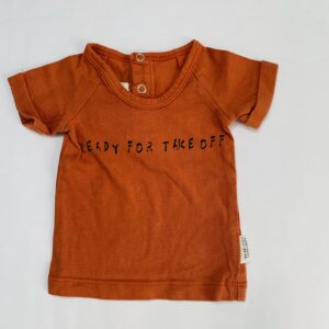 T-shirt terra ready for take off Little Indians 0-3m