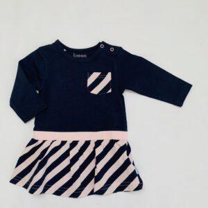 Kleedje duokleur stripes BESS 56