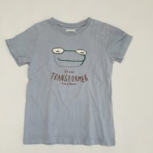 T-shirt green transformer Filou & Friends 5jr