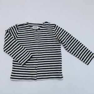 Gilet tricot stripes Filou & Friends 4jr
