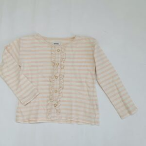 Longsleeve stripes frill Filou & Friends 8jr