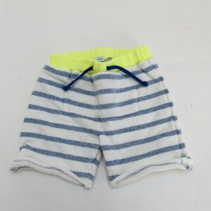Sweatshort stripes fluo detail Blablabla 80