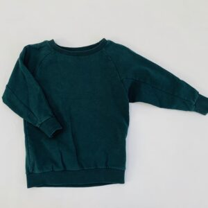 Sweater groen Mingo 1-2jr