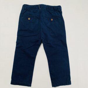 Chino donkerblauw Zara 18-24m / 92