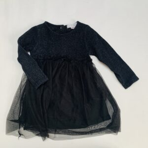 Kleedje met tutu zwart Zara 3-4jr / 104