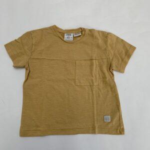 T-shirt mustard Zara 18-24m / 92