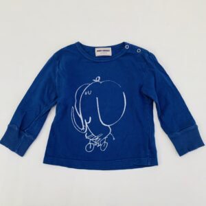 Longsleeve elephant Bobo Choses 12-18m