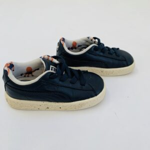 Sneakers speckled zool donkerblauw Tiny Cottons X Puma maat 23
