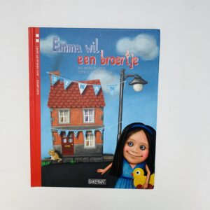 Boek Emma wil een broertje