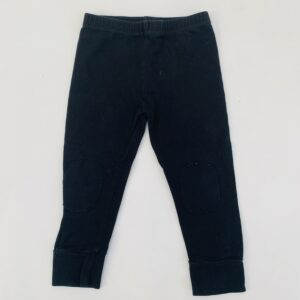 Legging black kneepatch Mingo 1-2jr